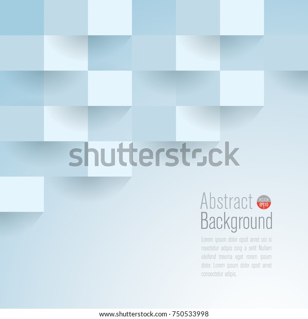 Light Blue Abstract Texture Vector Background Stock