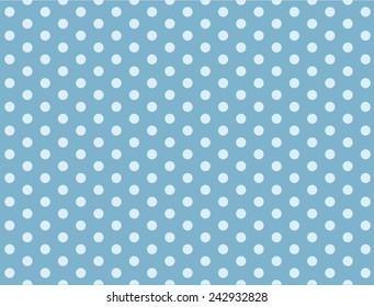 Light blue dot pattern seamless background vector.