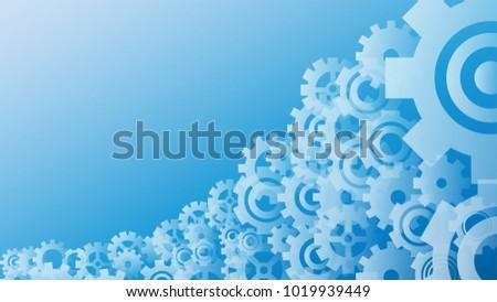 Light blue gear wheels abstract background stock vector royalty jpg 450x273 Light  blue gear 89b5274e0ab06