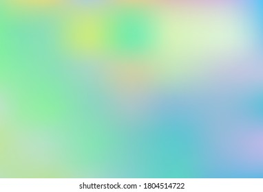 Light Blue, Green vector abstract bright texture. Abstract colorful illustration with gradient. Background for designs.