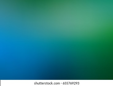 Light Blue, Green vector abstract template. A completely new color illustration in a vague style. The template can be used as a background of a cell phone.