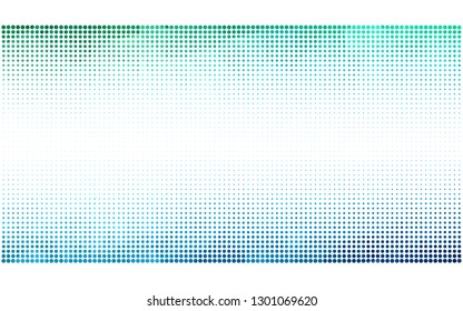 Light Blue, Green vector  background with bubbles. Abstract illustration with colored bubbles in nature style. Pattern for ads, leaflets.