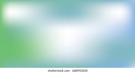 Light Blue, Green vector blurred background. Colorful illustration in abstract style with gradient. Elegant background for a brand book.