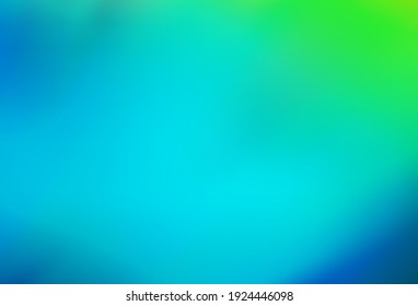 Light Blue, Green vector colorful abstract background. Colorful abstract illustration with gradient. Completely new design for your business.