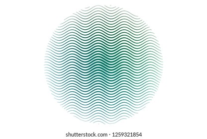 Light Blue, Green vector layout with flat lines. Blurred decorative design in simple style with lines. Pattern for ads, posters, banners.