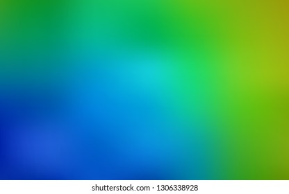 Light Blue, Green vector modern elegant layout. Colorful illustration in abstract style with gradient. Blurred design for your web site.