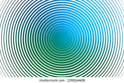 Light Blue, Green vector template with circles. Blurred decorative design in abstract style with bubbles. Template for your brand book.