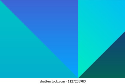 Light Blue, Green vector texture with collection of colors. Colorful gradient set with collection of rainbow colors. Pattern of colors for designers of booklets, leaflets.