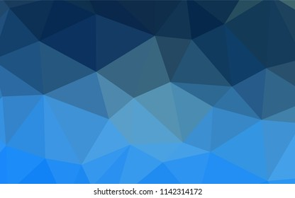 Light Blue, Red vector abstract mosaic backdrop. Colorful illustration in abstract style with triangles. Textured pattern for your backgrounds.