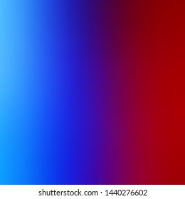 Light Blue, Red vector abstract blurred background. Abstract colorful illustration with gradient. New design for your web apps.