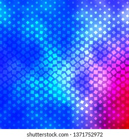 Light Blue, Red vector background with rectangles. Colorful illustration with gradient rectangles and squares. Pattern for websites, landing pages.