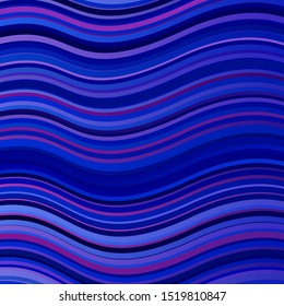 Light Blue, Red vector background with lines. Abstract illustration with gradient bows. Pattern for booklets, leaflets.