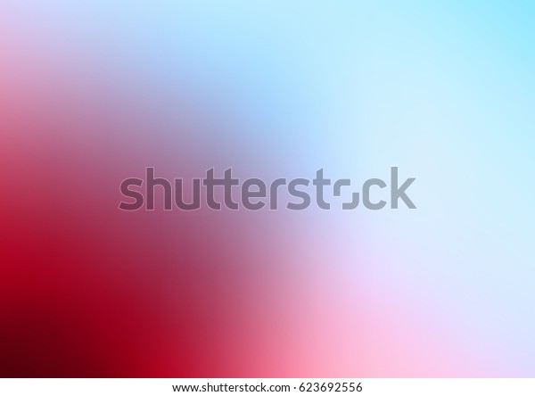 Light Blue, Red vector blurred colored illustration. Brand-new design for your business. Creative background in halftone style with gradient.