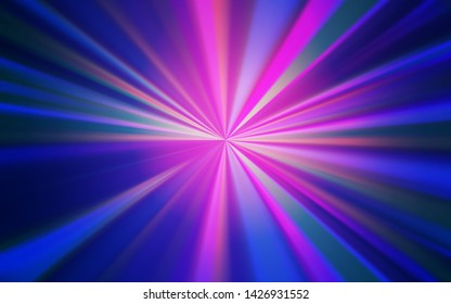 Light Blue, Red vector colorful blur backdrop. Shining colored illustration in smart style. Completely new design for your business.