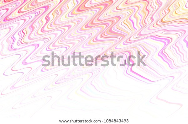 Light Blue, Red vector cover with stright stripes. Glitter abstract illustration with colored sticks. Smart design for your business advert.