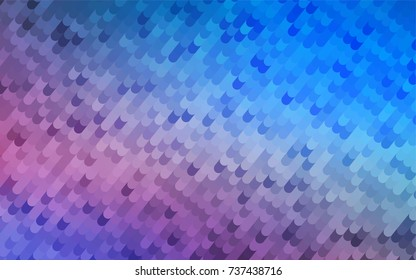 Light Blue, Red vector curved pattern. An elegant bright illustration with gradient. The elegant pattern can be used as part of a brand book.