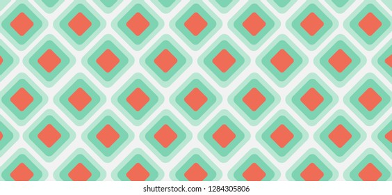 light blue, red vector texture with disks. Blurred box on abstract background with colorful gradient. Completely New design for ad, poster, banner of your website