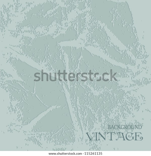 Light Blue Texture Old Plaster Stock Vector (Royalty Free) 115261135