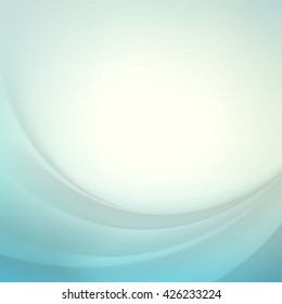 Light Blue Vector Abstract Background
