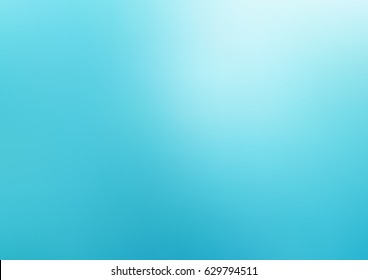 Light BLUE vector abstract blurred background. Shining colored illustration in a brand-new style. The template can be used as a background of a cell phone.