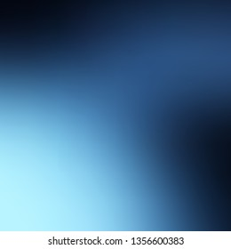 Light BLUE vector abstract bright template. Brand new colorful illustration in blur style. Background for ui designers.