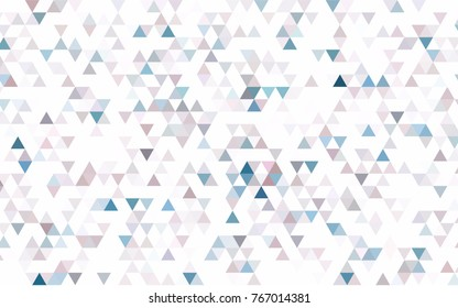 Light BLUE vector abstract polygonal background. An elegant bright illustration with gradient. A new texture for your design.