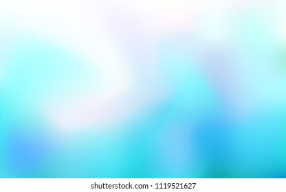 Light BLUE vector abstract texture. Colorful illustration in abstract style with gradient. The blurred design can be used for your web site.