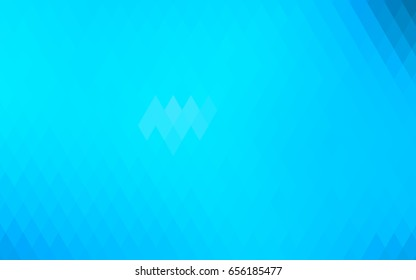 Light BLUE vector abstract textured polygonal background. Blurry rectangular design. The pattern with repeating rectangles can be used for background.
