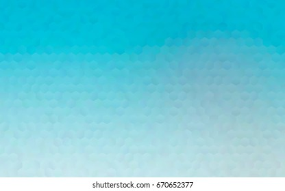 Light BLUE vector abstract textured polygonal background. Brand-new blurry hexagonal design. Pattern can be used for background.