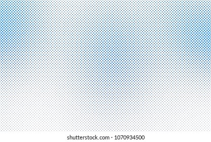 Light BLUE vector  background with bubbles. Illustration with set of shining colorful abstract circles. Beautiful design for your business natural advert.