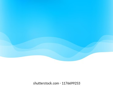 Light BLUE vector background with lamp shapes. Colorful abstract illustration with gradient lines. Textured wave pattern for backgrounds.