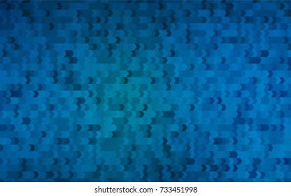 Light BLUE vector background of rectangles and squares. Style quilt and blanket. Geometrical rectangular pattern. Repeating pattern with rectangle shapes.