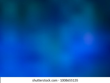 Light BLUE vector blurred bright pattern. Colorful abstract illustration with gradient. A completely new template for your business design.