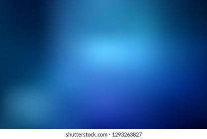 Light BLUE vector blurred bright texture. New colored illustration in blur style with gradient. Blurred design for your web site.