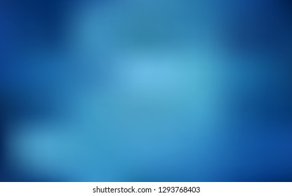 Light BLUE vector blurred bright texture. Colorful illustration in abstract style with gradient. New style for your business design.