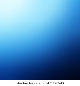 Light BLUE vector blurred colorful background. Gradient abstract illustration with blurred colors. New design for your web apps.