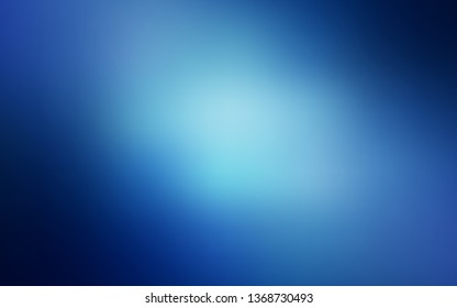 Light BLUE vector blurred pattern. New colored illustration in blur style with gradient. The best blurred design for your business.