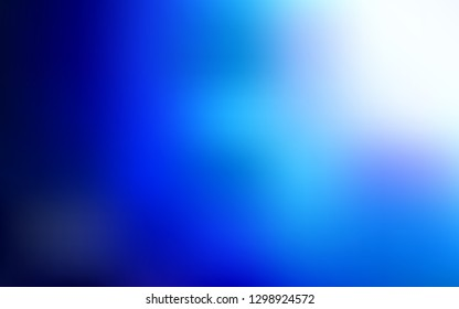 Light BLUE vector blurred shine abstract texture. Shining colored illustration in smart style. Blurred design for your web site.