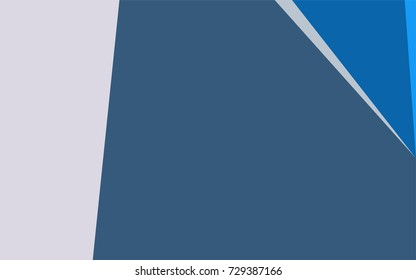 Light BLUE vector blurry triangle pattern. Colorful abstract illustration with gradient. The polygonal design can be used for your web site.