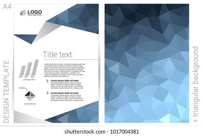 Light BLUE vector  cover for Envelopes. Modern abstract design concept with colorful gradient. Completely new template for your brand book.