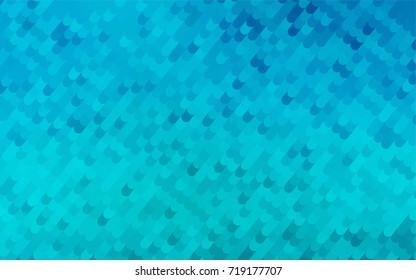 Light BLUE vector crooked abstract background. Shining crooked illustration in a brand-new style. A new texture for your design.