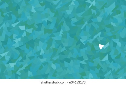 Light BLUE vector geometric simple minimalistic background, which consist of triangles on white background. Triangular pattern with gradient for your business design.