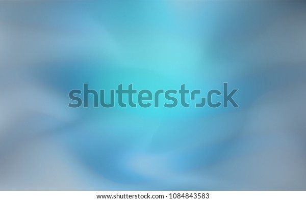 Light BLUE vector glossy abstract cover. Colorful abstract illustration with gradient. The textured pattern can be used for background.