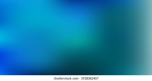 Light blue vector gradient blur pattern. Blurred abstract gradient illustration in simple style. Wallpaper for your web apps.