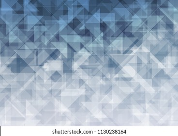 Light BLUE vector low poly. Colorful abstract illustration with gradient. Triangular pattern for your business design.