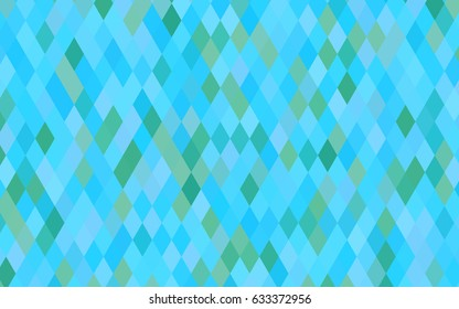 Light BLUE vector low poly pattern. A completely new color illustration in a vague style. The template can be used as a background for cell phones.