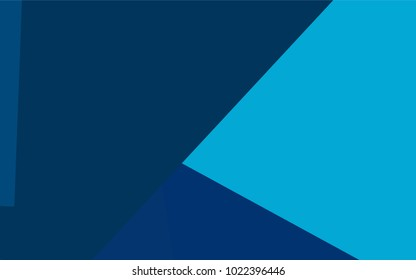 Light BLUE vector modern geometrical background. Abstract template. Geometric pattern in square style with gradient.