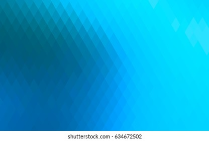 Light BLUE vector pattern. Brand-new rectangular template. Shining geometric sample. Repeating theme with rectangular shapes. Texture for your design.