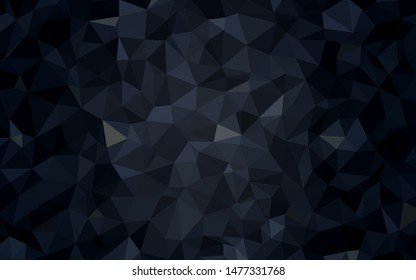 Light BLUE vector polygon abstract backdrop. Modern abstract illustration with triangles. Triangular pattern for your design.