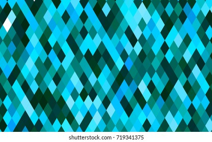 Light BLUE vector polygon abstract background. Colorful illustration in abstract style with gradient. A new texture for your design.